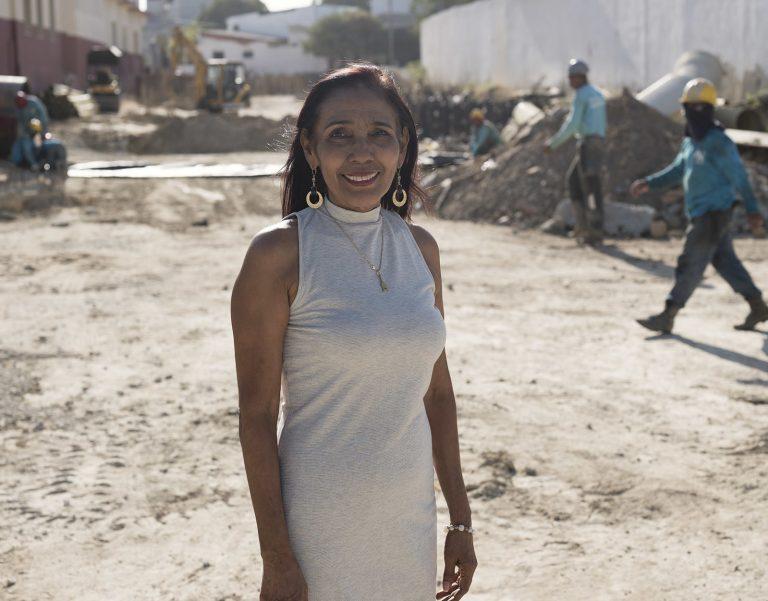 Yolanda Contreras - Beneficiaria de obras de canalización del arroyo de la carrera 21