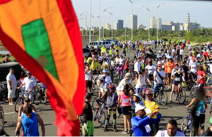 Ciclista ejemplar Barranquilla