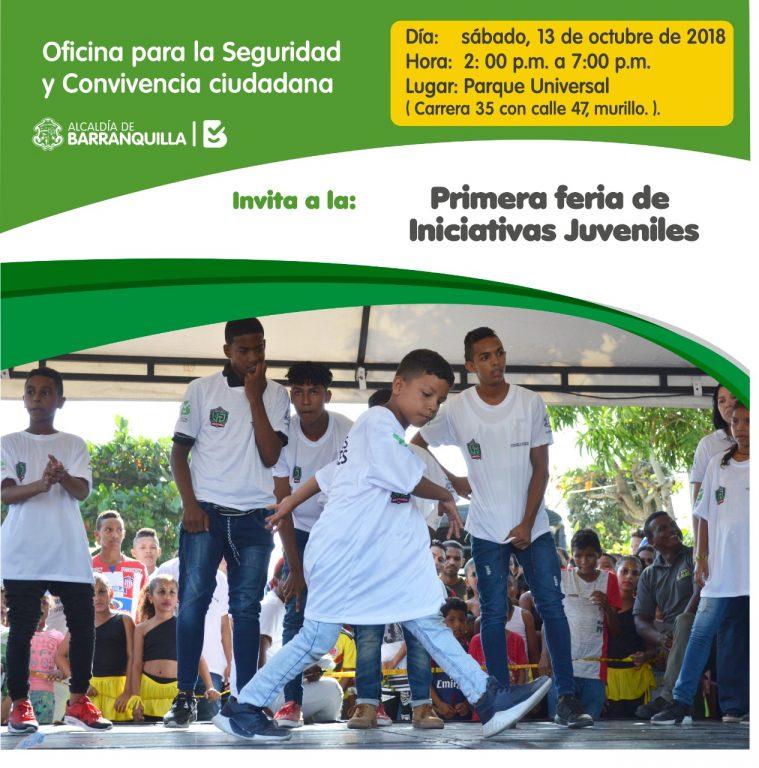 Feria Iniciativas Juveniles - OSCC